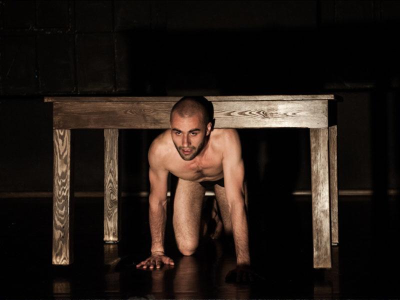 IX Edycja Mandala Performance Festival - Jakub Gontarski, fot. Marta Ankiersztejn