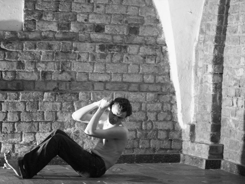 II Edycja Mandala Performance Festival - Wojtek Skowronek, fot. Marek Koprowski