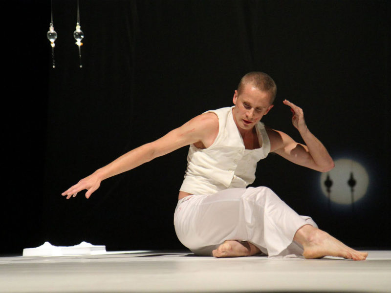VII Edycja Mandala Performance Festival - Kacper Lipiński, fot. Marek Koprowski